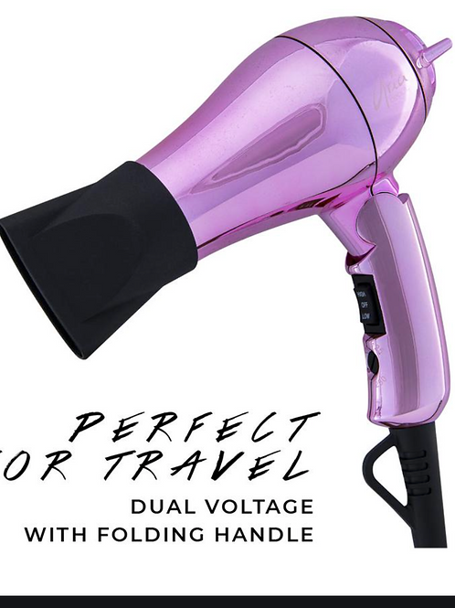 Metallic Elements Mini Blow Dryer w/diffuser