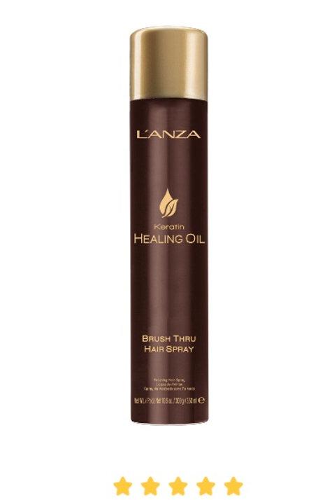 Lanza Healing Oil Brush Through Hairspray
