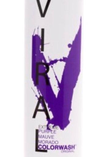 Viral Purple Colorwash