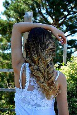 highlights, hair extensions, colors and treatments