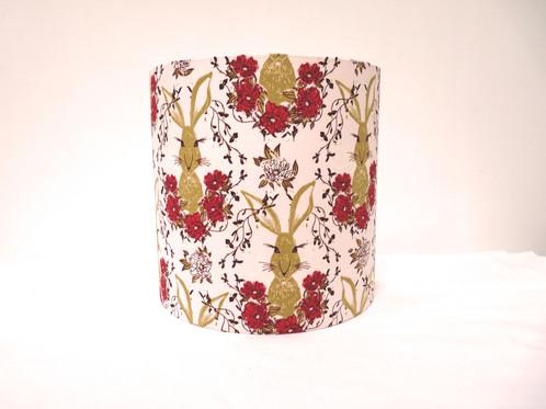 Applique murale tissu rose ambiance romantique chambre fille | Alice