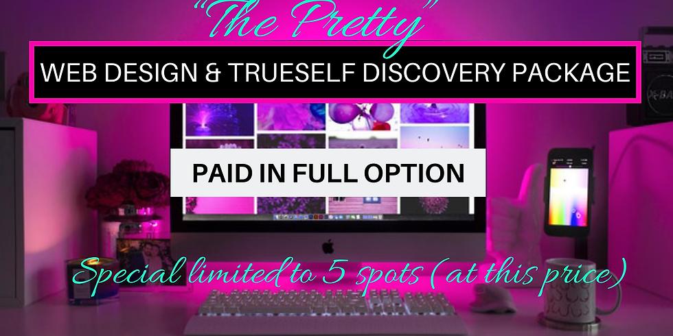 Web Design & Trueself Discovery Package Offer