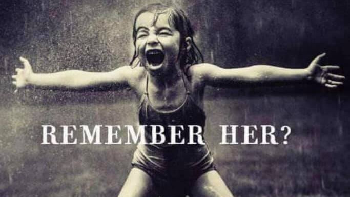 What Will You Say To Her - Reclaiming Your Inner Child