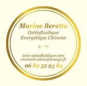 Logo pour Marie Beretta, ostéofluidique et médecine chinoise