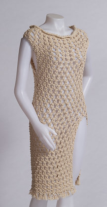 Macramé Cotton Dress