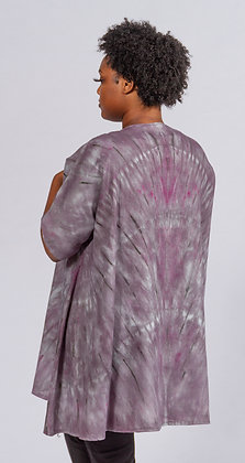 Hand-dyed Linen Kimono