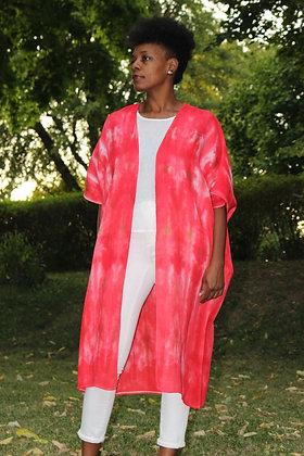 Hand-dyed Cotton Kimono