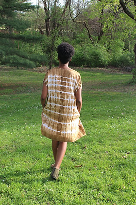 Hand-dyed Linen Tunic