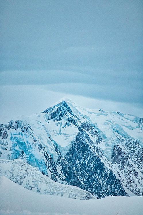 Cadre photo Mt Blanc 60X90