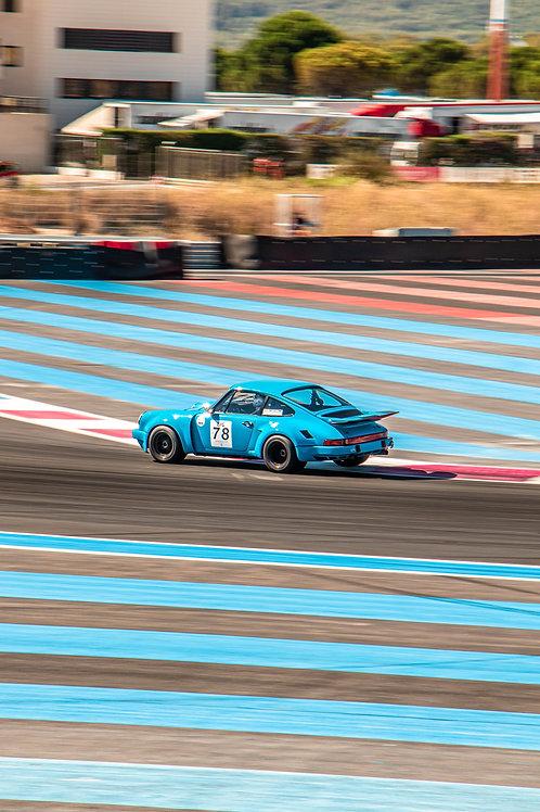 Cadre photo Porsche au Castelet 2