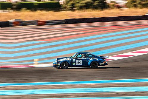 Cadre photo Porsche au Castelet