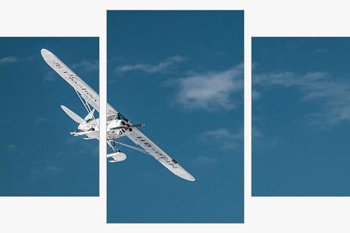 Triptyque Avion Verbier