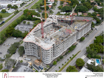 Topping out of THE BOULEVARD