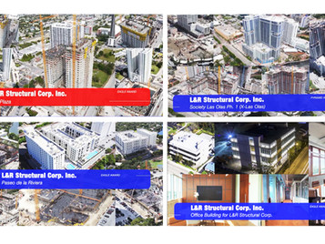 L&R Structural received multiple Awards at the 2020 Excellence in Construction ABC Awards.