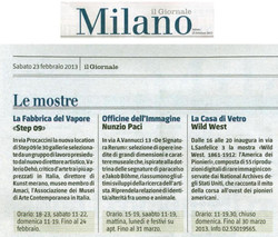 il giornale 23-2-2013 west
