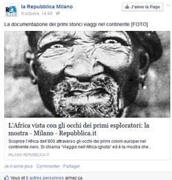 La Repubblica FACEBOOK