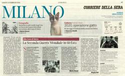 Corriere della Sera Milano 15 febbraio 2020 laGuerraTotale