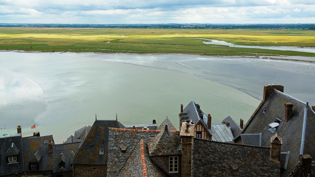 Le Mont St.Michel (F) – vista verso