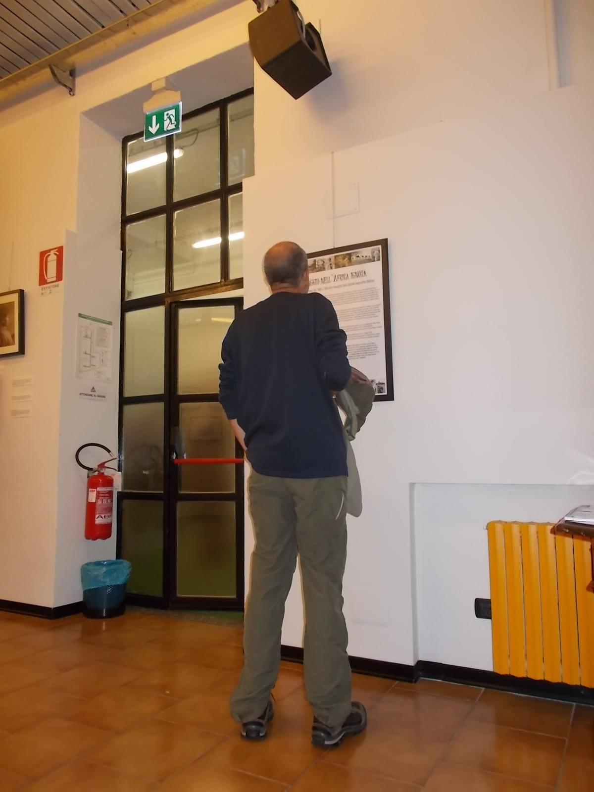 durante una mostra