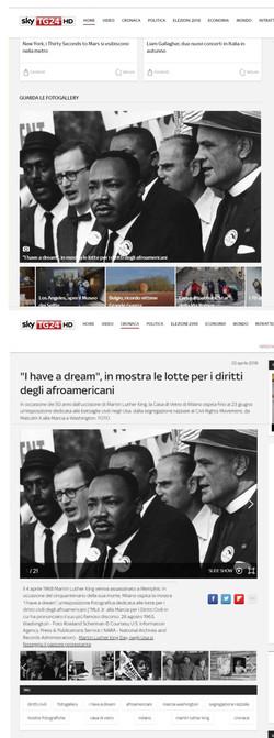 sky tg24 I Have a Dream
