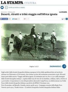 VIAGGIO NELL'AFRICA IGNOTA