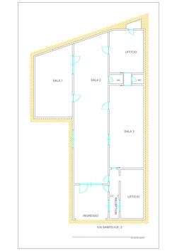 Planimetria la Casa di Vetro