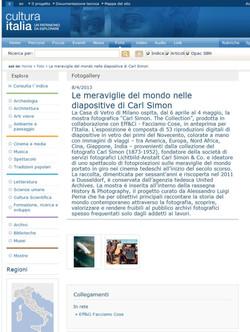 cultura italia_it Carl Simon