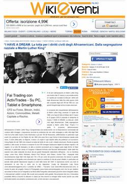 wikieventi_it I Have a Dream