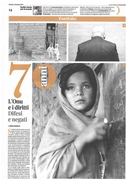 Corriere della Sera Buone Notizie 11 dic