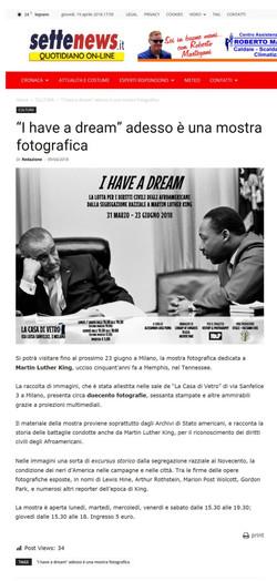 settenews_it I Have a Dream