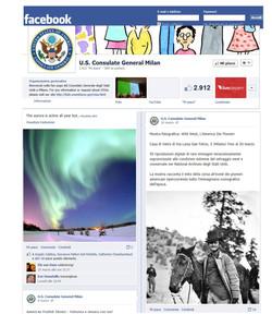consolato usa facebook west