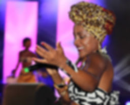 Katumbella at Angola Music Awards 2014