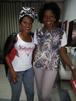 KATUMBELLA INTERVIEWS AT ANGOLAN TV