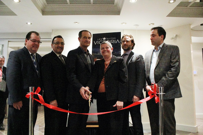 Inauguration Suites Victoria