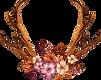 décorées Antlers