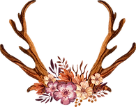 Decorated Antlers