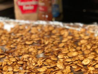Dave Wade's Roasted Pumpkin Seeds