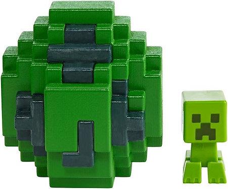 Minecraft Spawn Egg Mini Action Figure - Creeper …