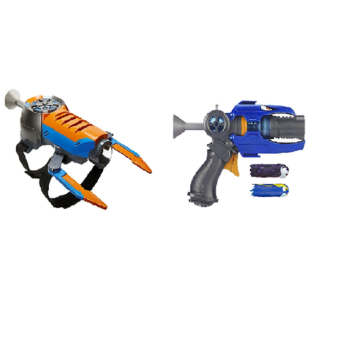 Slugterra Stealth Wrist Blaster and Entry Blaster & Evo Dart - Kord' s Blaster