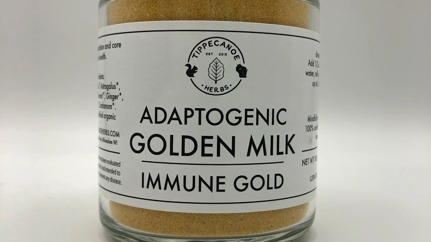Adaptogenic Golden Milk