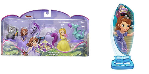 Sofia The First Royal Friends Enchancia Core Figure Set and Story Time Theater P