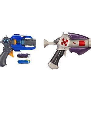 Slugterra, Dr. Blakk's Blaster 2.0 and Slugterra, Kord's Blaster 2.0 with 2 Firi