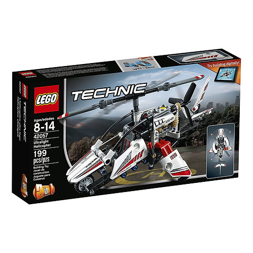 LEGO Technic Ultralight Helicopter Advance Building Ste