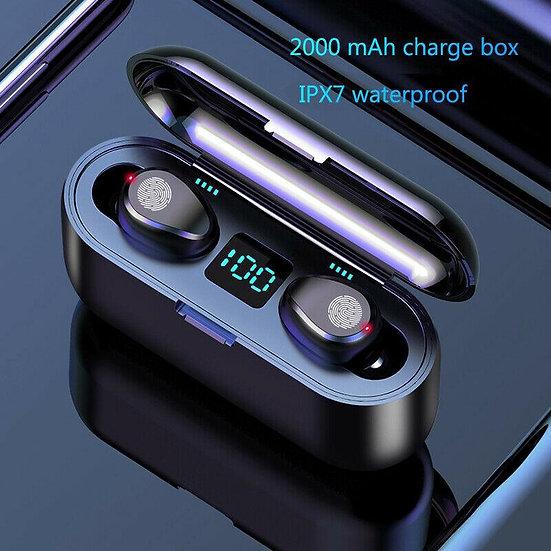Bluetooth 5.0 Headset TWS Wireless Earphones Mini Earbuds Stereo