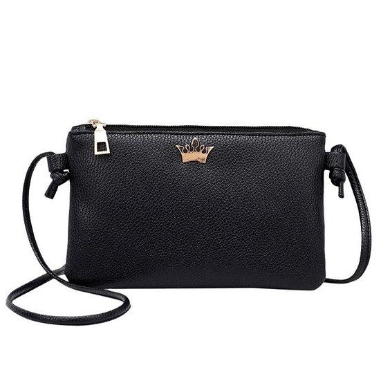 fashion Women Leather Crossbody Bag Pure