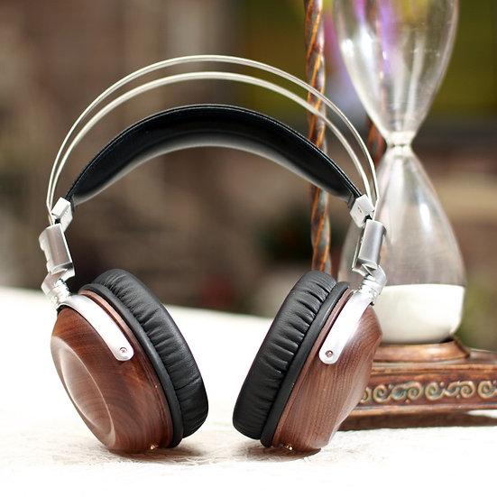 DIY 50mm Wood HIFI Headphones