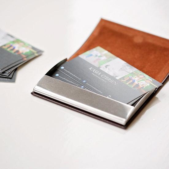 Engraved Business Card / Credit Card Holder