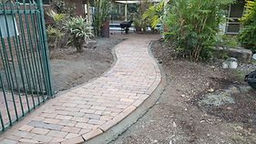 paved pathway