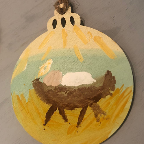 Baby Jesus Ornament by Brian Stahl