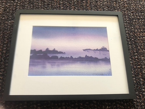 Original Watercolor by Martha Woodall - Landscape 2